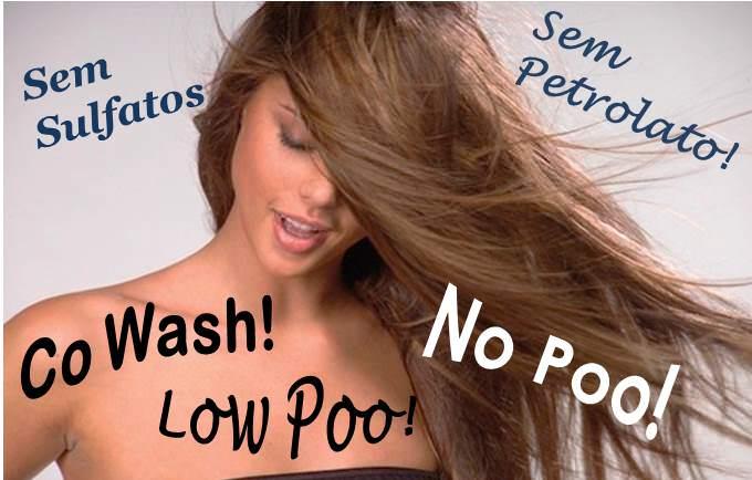 No Poo, Low Poo e Co Wash