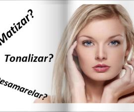 Diferença entre Matizar, Desamarelar, Banho de brilho e Tonalizar.