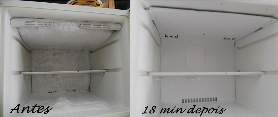 Como descongelar o freezer sem sujeira e rapidinho - Temperatura freezer casa ...