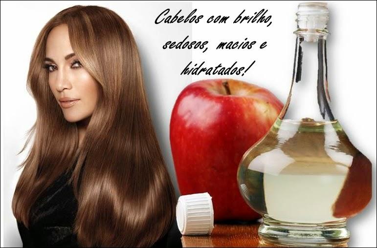Resultado de imagem para vinagre de maçã para o cabelo