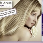 Platinum Blond Óleo de Argan Violet da Magic Color.