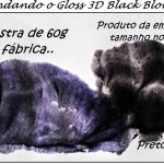 Misturinha no cabelo: Gloss 3D Ice+Platinum+Black = Amostra de 60g do Black!