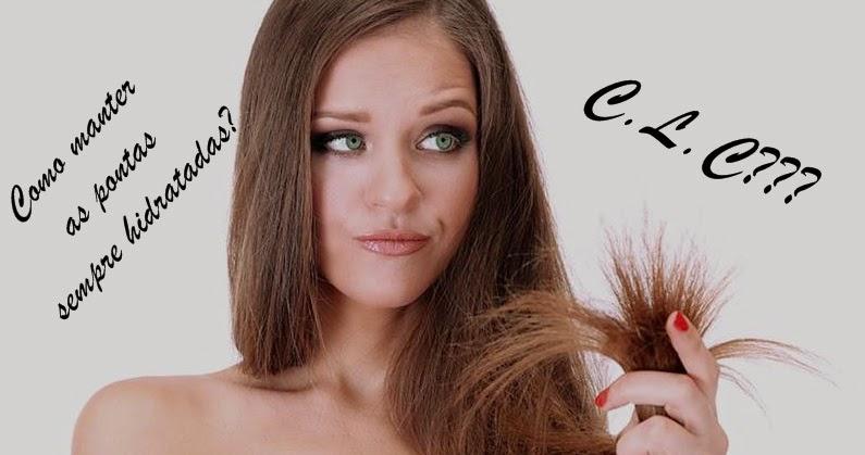 CLC pontas dos cabelos sempre hidratadas