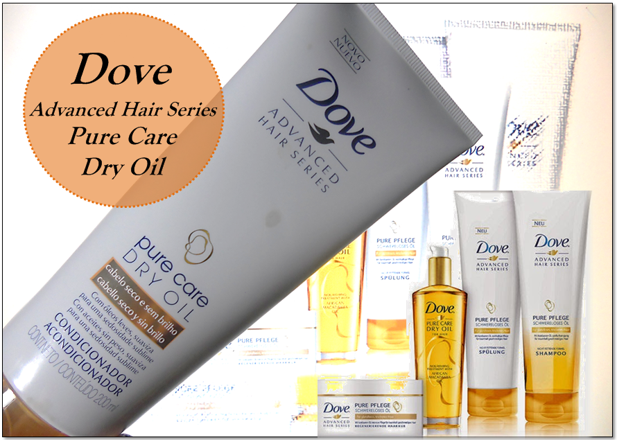 Condicionador Dove Pure Care Dry Oil