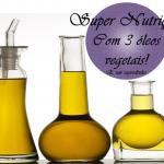 Super Nutrição capilar com 3 óleos vegetais e um segredinho!