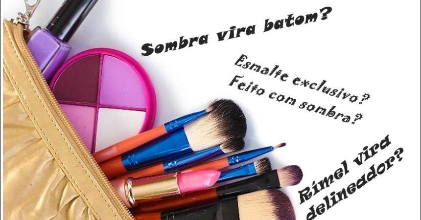 Ideias criativas para reaproveitar suas maquiagens