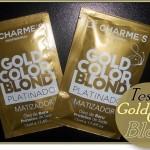 Testei: Matizador Gold Color Blond da Lé Charmes