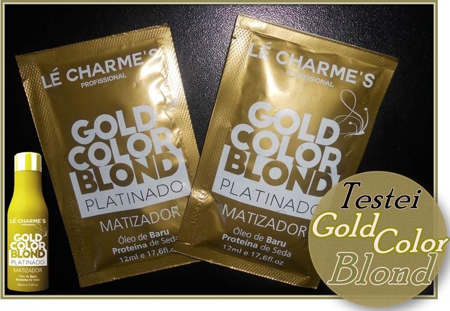 Matizador Gold Color Blond da Lé Charmes