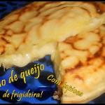 Pão de queijo de frigideira feito com tapioca!