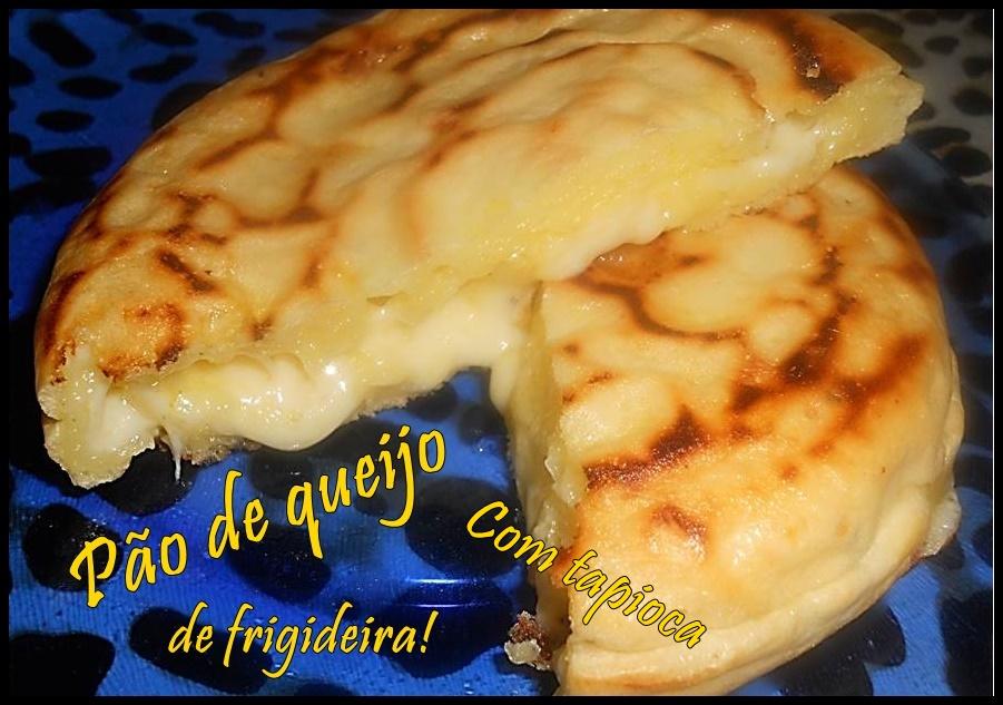 Pão de queijo de frigideira feito com tapioca