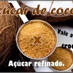 Açúcar de coco e seus benefícios para a nossa saúde!