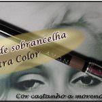 Lápis para Sobrancelha Utra Color da Avon. Castanho a moreno.