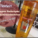Shampoo Elseve óleo Extraordinário. Testei!