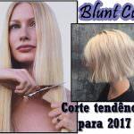 Blunt Cut. O novo corte de cabelo que já virou tendência lá fora.