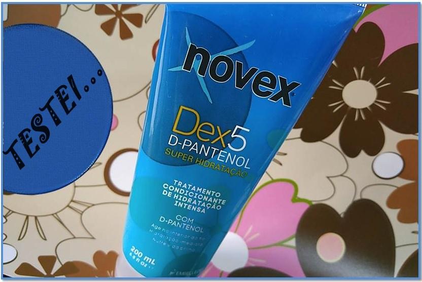Dex5 D-Pantenol Super Hidratação da Novex.