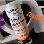 S.O.S Bomba de Vitaminas Tônico Fortalecedor com D-Pantenol da Salon Line