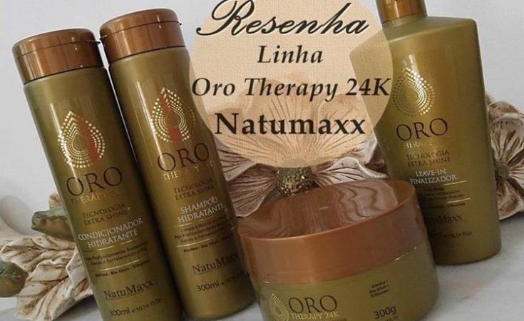 Resenha: Linha Oro Therapy 24k da Natumaxx