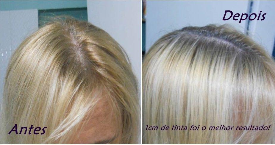 Como matizar o cabelo loiro com tinta preta.