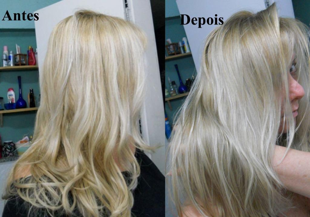 Como matizar o cabelo loiro com tinta pre