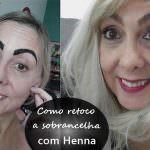 Como aplicar Henna na sobrancelha