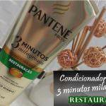 Condicionador 3 Minutos Milagrosos Restauração da Pantene
