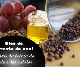 Óleo de semente de uva