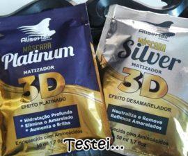 Matizador Platinum e Silver 3D AliseHair