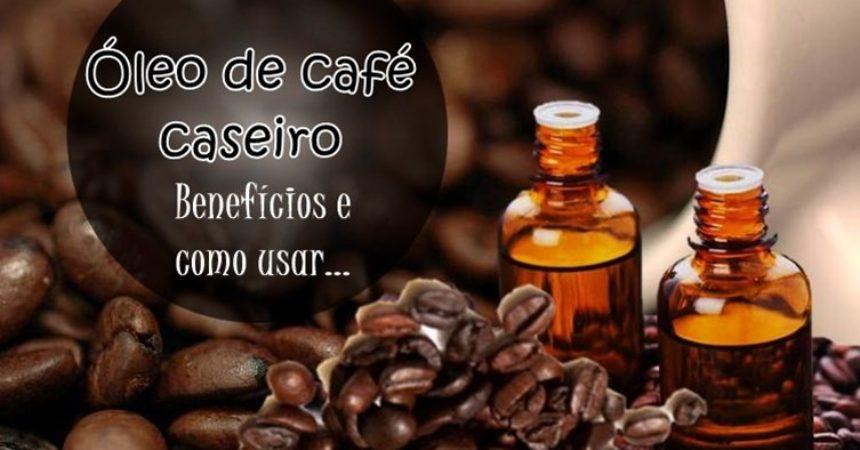 Óleo de café caseiro