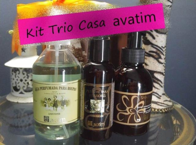 Kit Trio Casa da Avatim