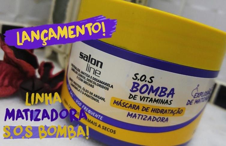 S.O.S Bomba Máscara Matizadora Salon Line