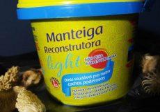 Manteiga reconstrutora Light