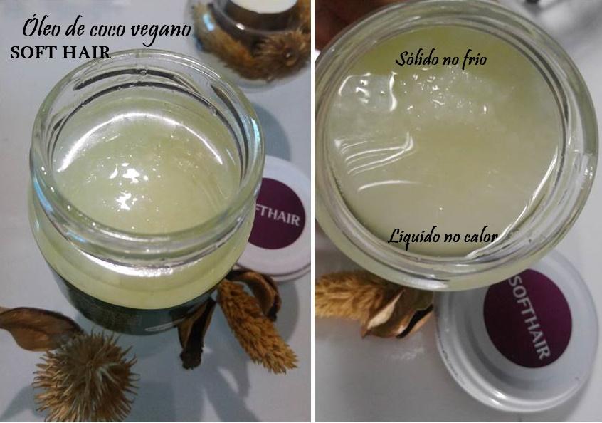 Oleo de coco Softhair