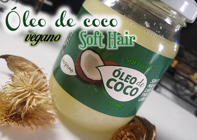 Óleo de coco Vegano da Softhair