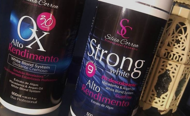Descolorante Strong White Silvia Correa