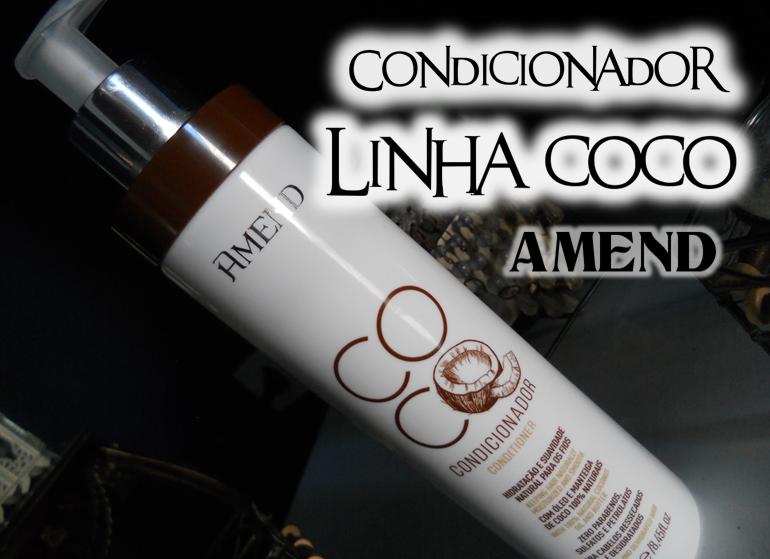 Condicionador Coco da Amend