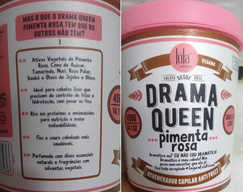 Drama Queen Pimenta Rosa Lola