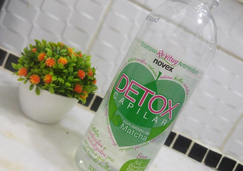 Shampoo Detox ReVitary da Novex