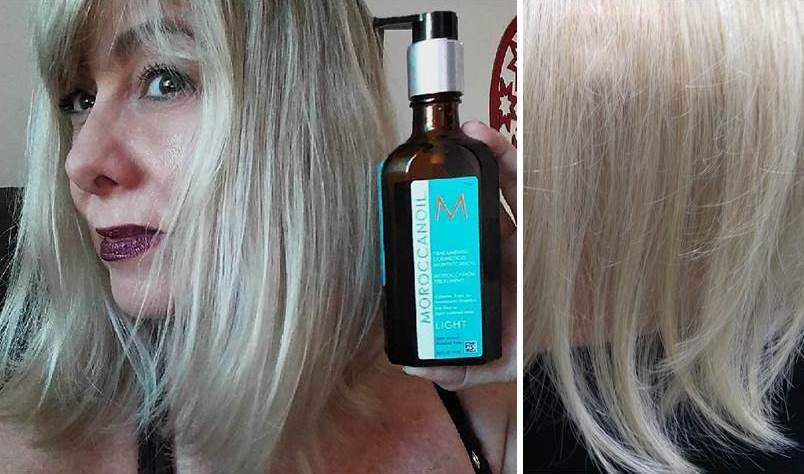 Moroccanoil Light para cabelos finos