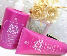 Sabonete líquido e Hidratante corporal Leite de Rosas