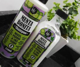 Menta Bonita Lola Cosmetics - Shampoo e condicionador