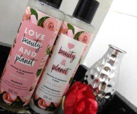 Love Beauty and Planet Murumuru e Rosa - Liberado Low e No Poo