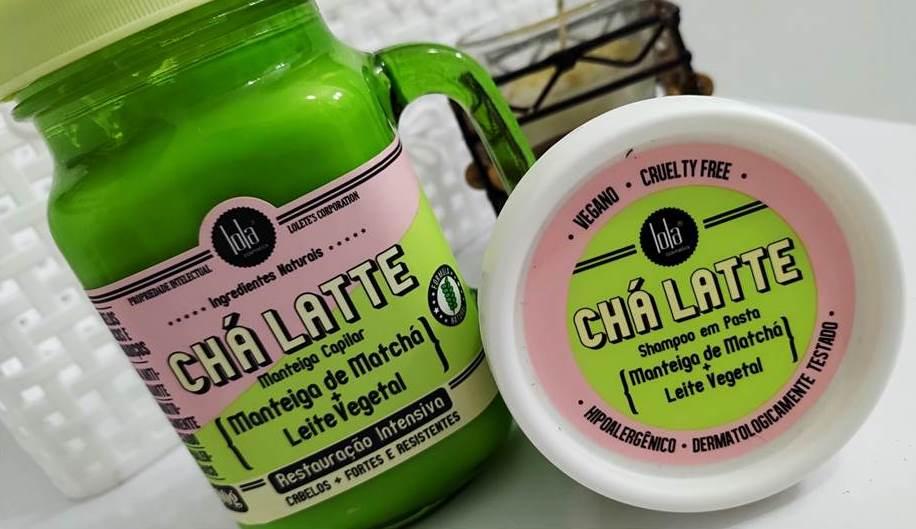 CHÁ LATTE MATCHA Manteiga Capilar e Shampoo em pasta Lola Cosméticos