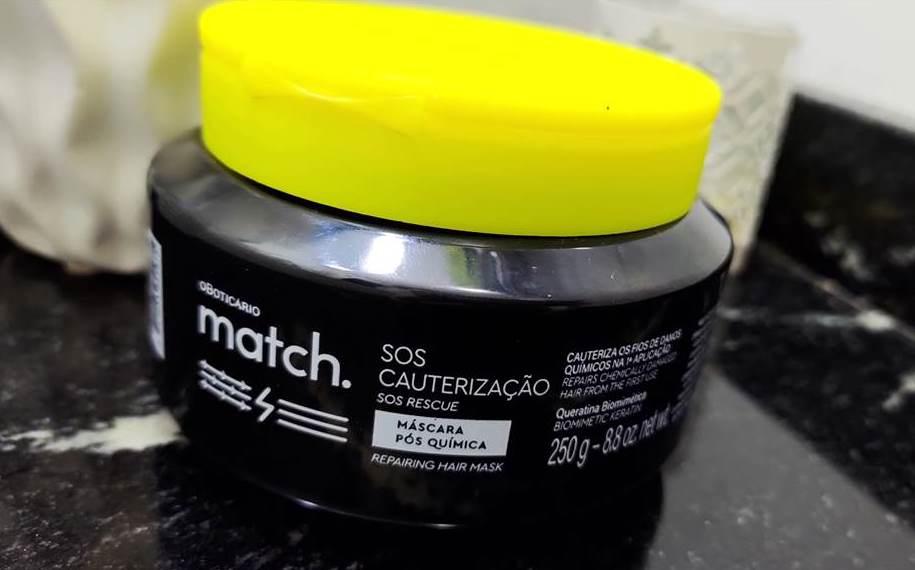 SOS Cauterização Match O Boticário.